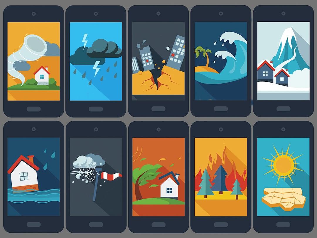 Comment la technologie peut aider à minimiser les dommages des catastrophes naturelles?
